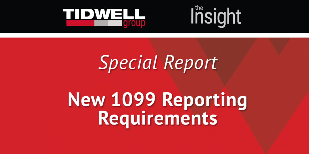 New 1099 Reporting Requirements